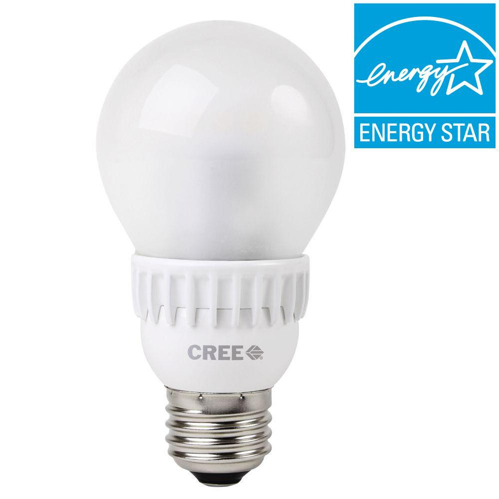 Cree 40W Equivalent Soft White (2700K) A19 Dimmable LED L...
