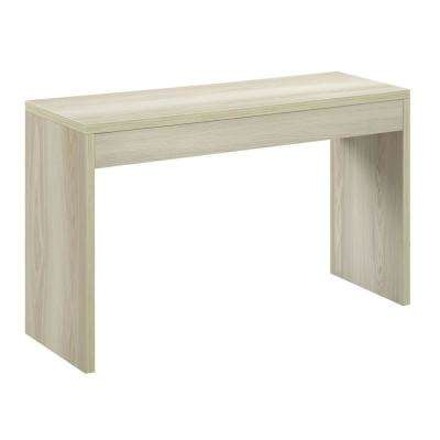 Northfield Weathered White Console Table