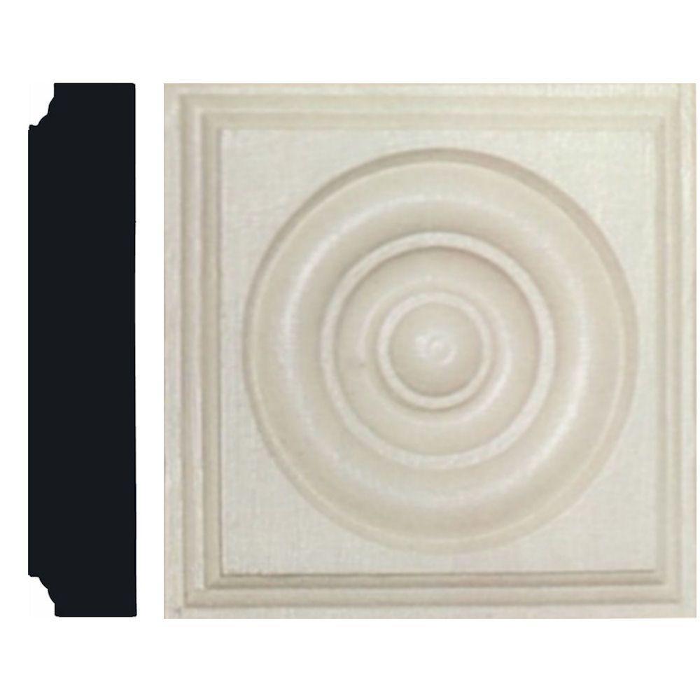 3 1//4 x 5 1//2 Paint Grade Inside Corner Crown Blocks 8