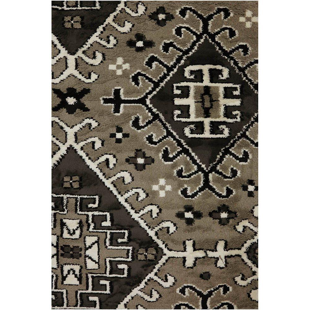 American Rug Craftsmen Clawson Taupe 3 ft. 4 in. x 5 ft. 6 in. Accent Rug