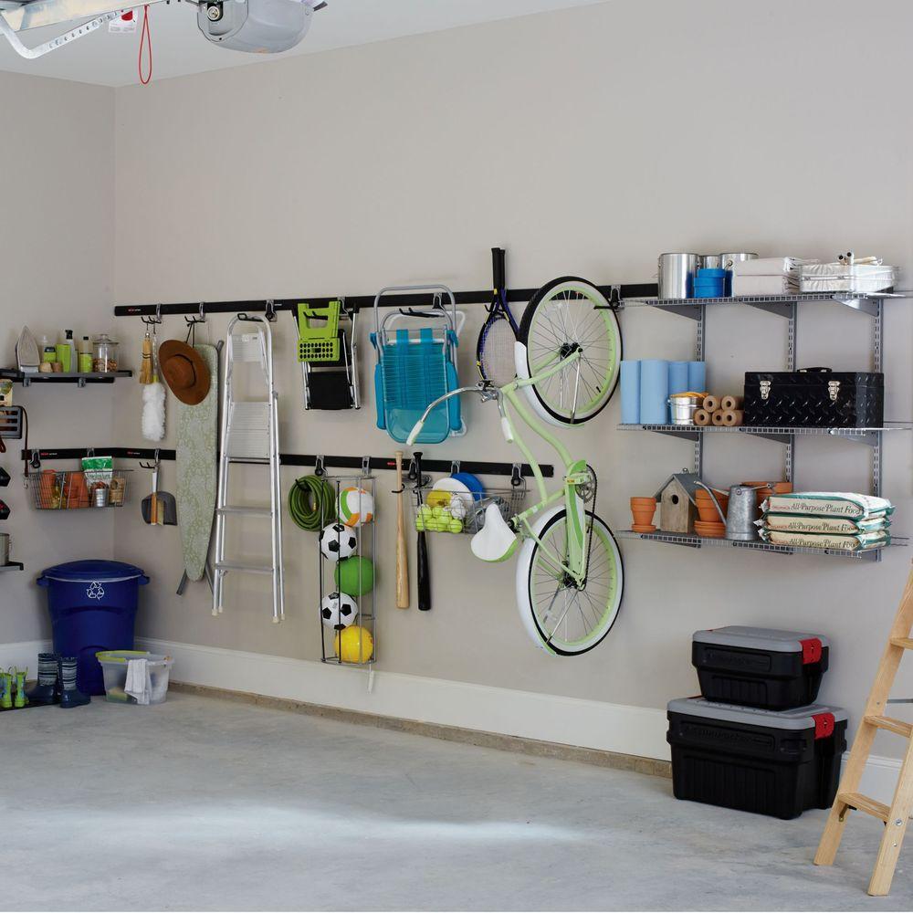 Rubbermaid Fasttrack Garage Multi, Garage Tool Storage Ideas Home Depot