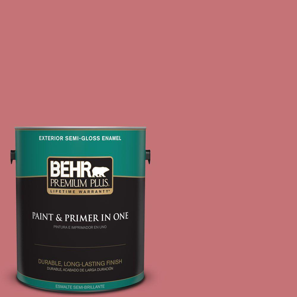 1-gal. #150D-5 Deep Bloom Semi-Gloss Enamel Exterior Paint