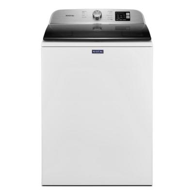 28 in. 4.8 cu. ft. White Top Load Washing Machine with Deep Fill