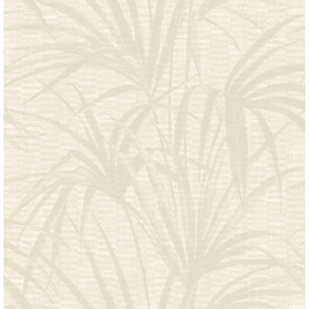 Hilo Cream Palm Wallpaper