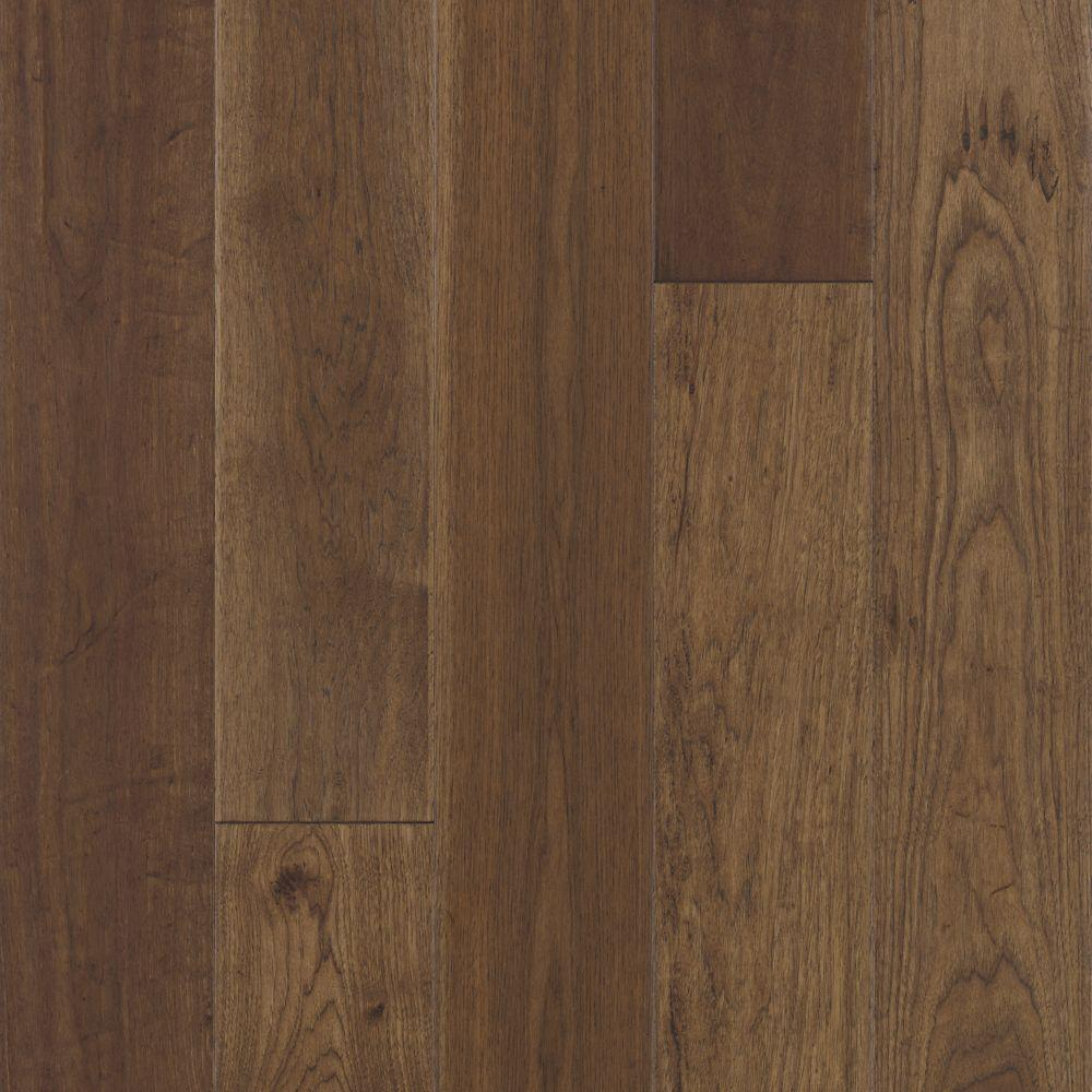 Mohawk Take Home Sample - Big Sky Collection Rust Hickory Engineered Hardwood Flooring - 5 in. x 7 in.
