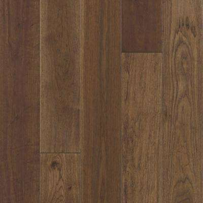 Take Home Sample - Big Sky Collection Rust Hickory Engineered Hardwood Flooring - 5 in. x 7 in.