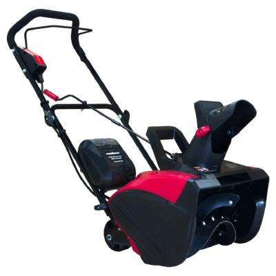 18 in. 40-Volt Lithium-Ion Cordless Snow Blower