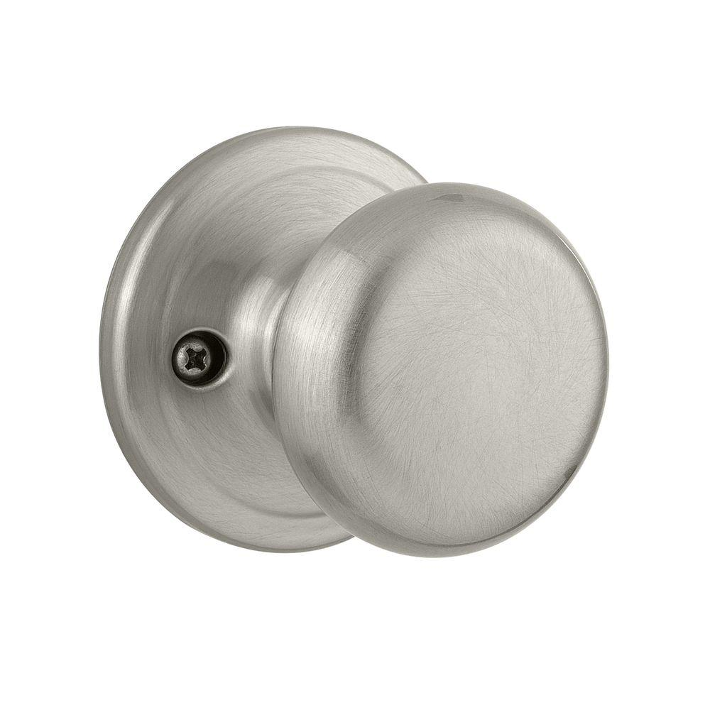 Hancock Satin Nickel Half-Dummy Knob