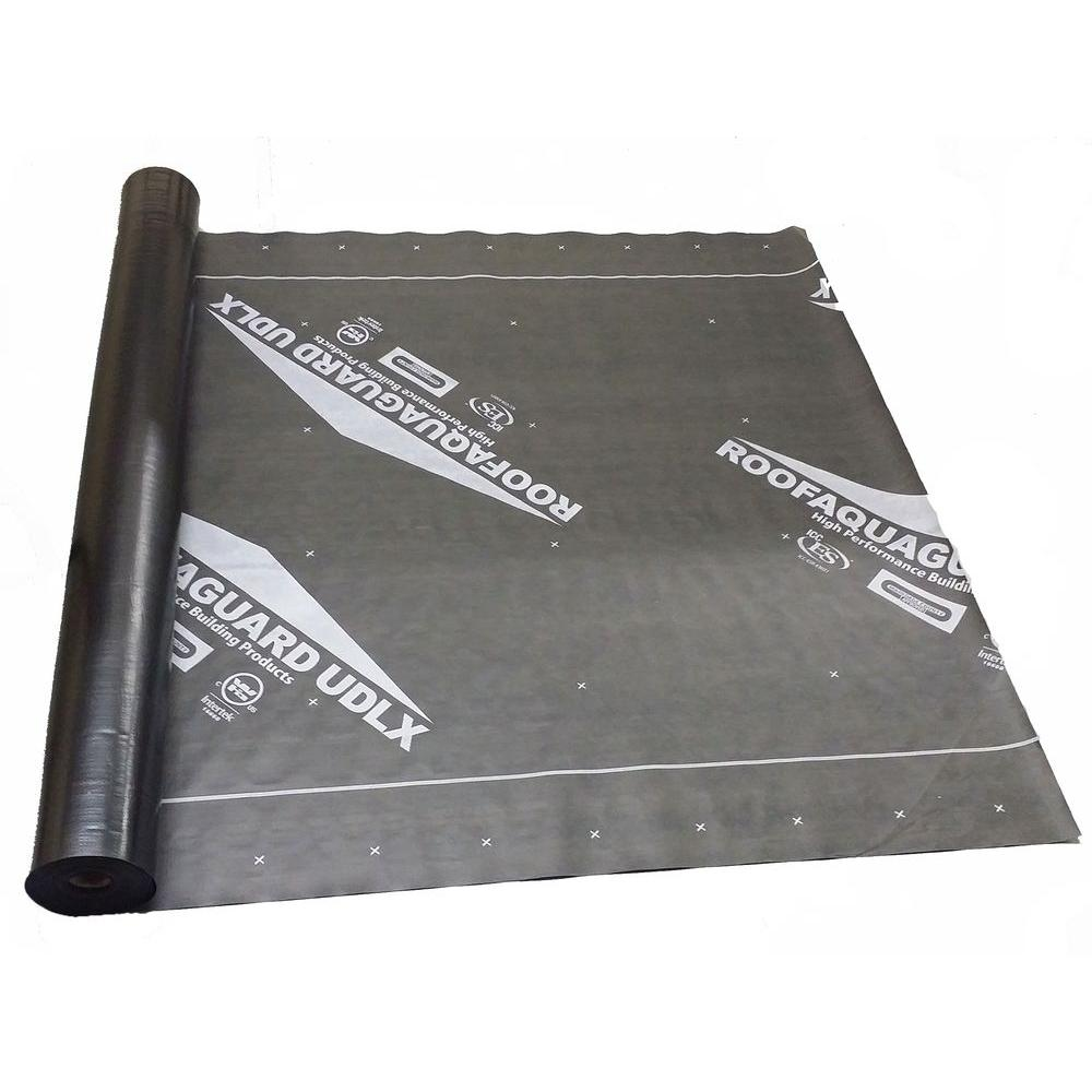 Roofaquaguard 60 In X 200 Ft Udlx Synthetic Underlayment