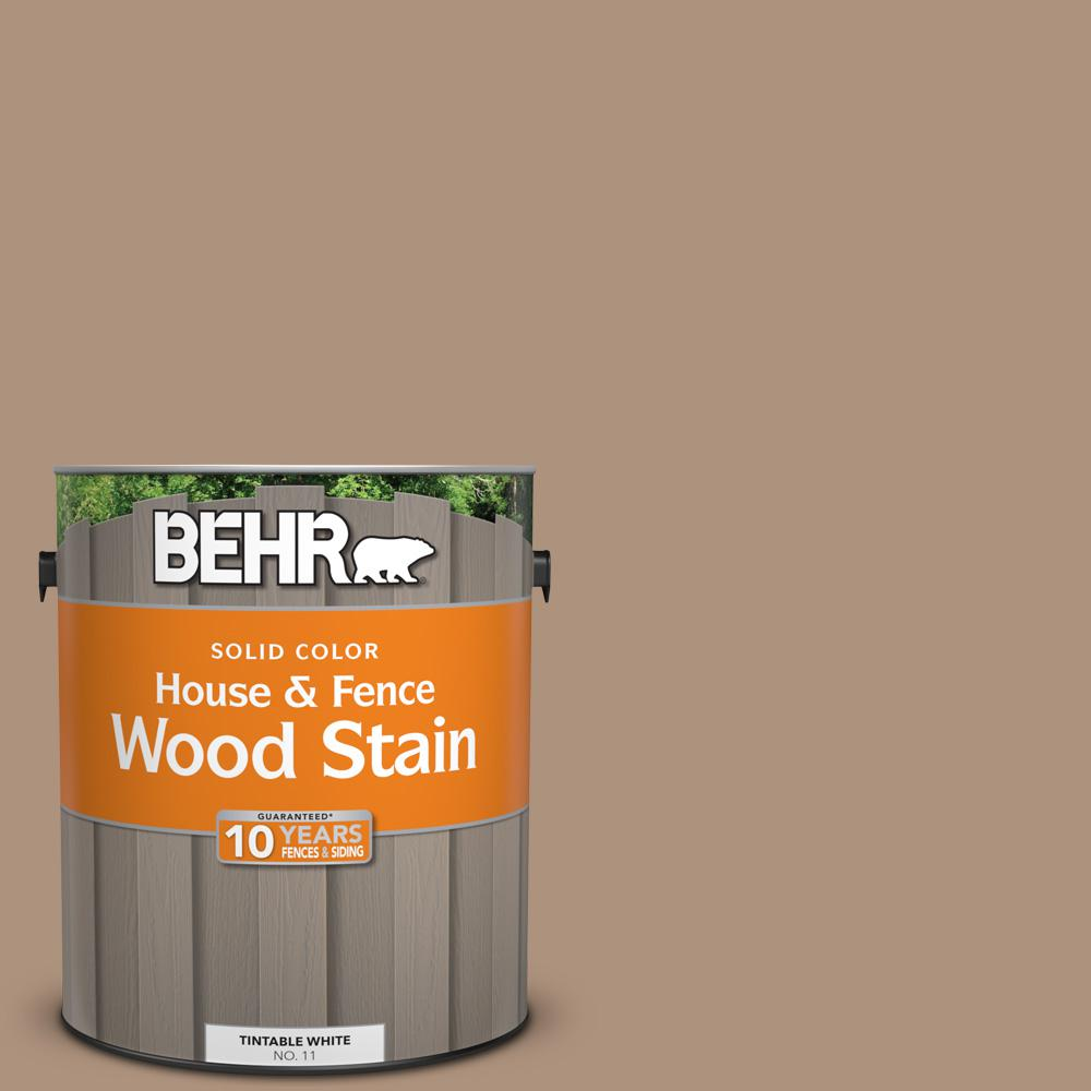 1 gal. #SC-160 Rose Beige Solid Color House and Fence Wood