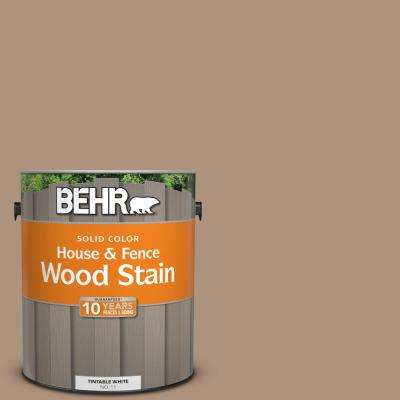 1 gal. #SC-160 Rose Beige Solid Color House and Fence Wood Stain