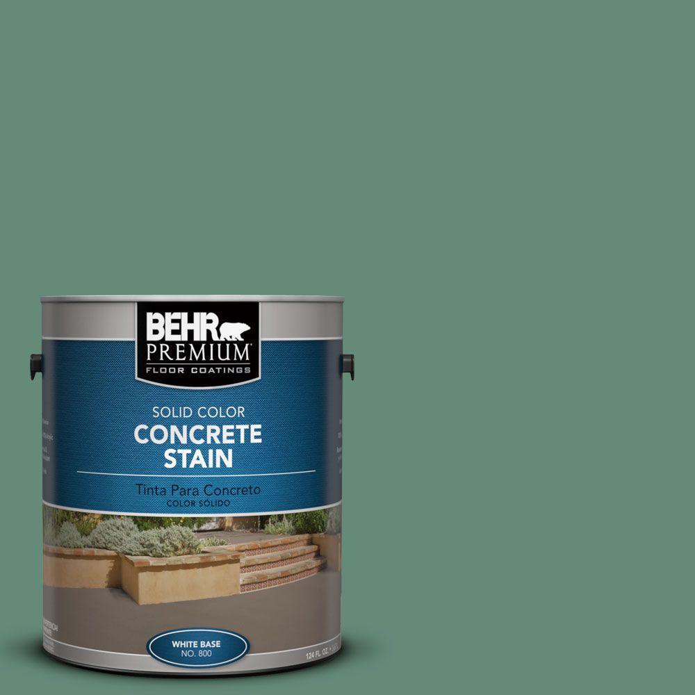 1 gal. #PFC-44 Green Adirondack Solid Color Interior/Exterior Concrete Stain
