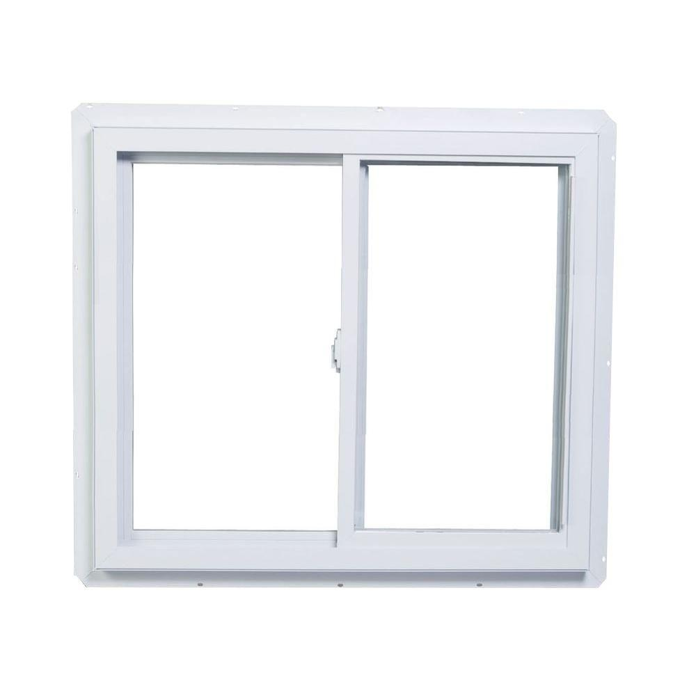 36 in. x 35 in. 2800 Series Reversible Sliding Vinyl Window