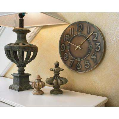 12 in. Frank Lloyd Wright Wall Clock