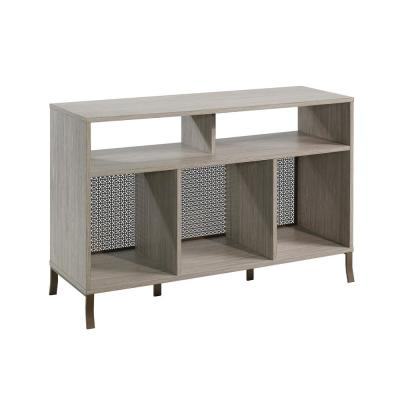 Center City 45.984 in. W Champagne Oak TV Stand Fits TV's up to 50 in.
