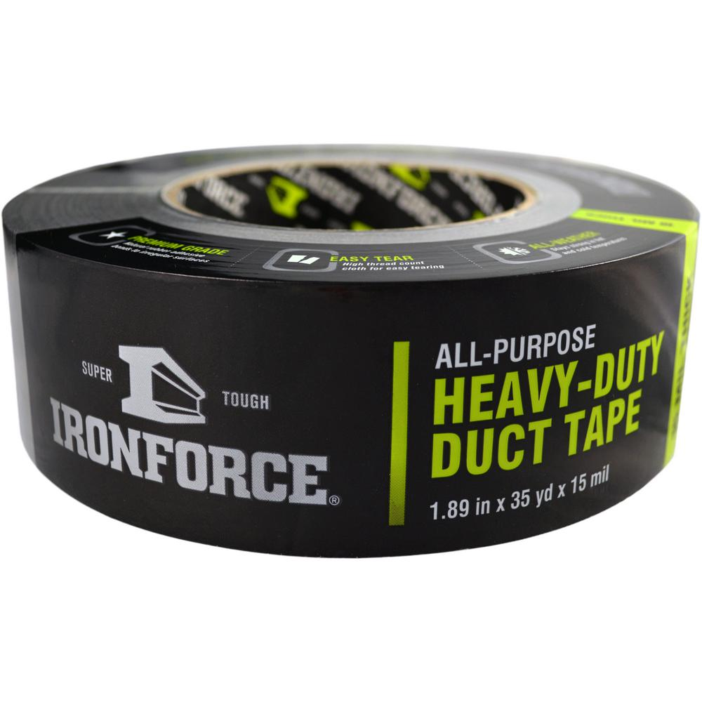 1.89 in. x 35 yd. All-Purpose Heavy-Duty Duct Tape in Gray
