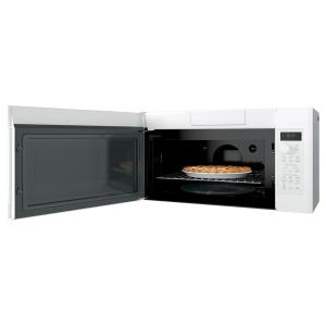 So Sku 1001845715 11 Ge Profile 1 7 Cu Ft Convection Over The Range Microwave In White