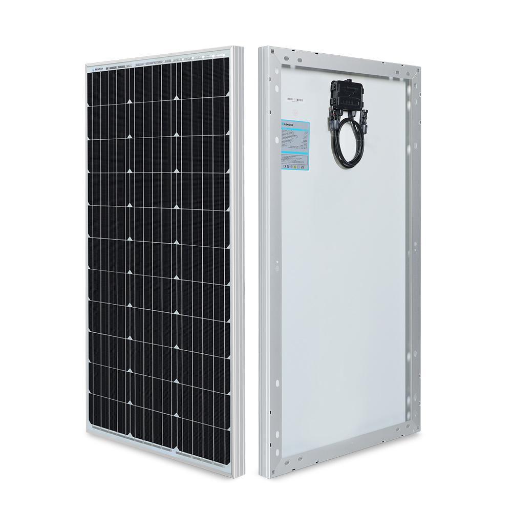 80-Watt 12-Volt Monocrystalline Solar Panel
