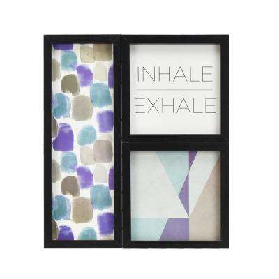 Inhale Exhale Gallery Framed Wall Art