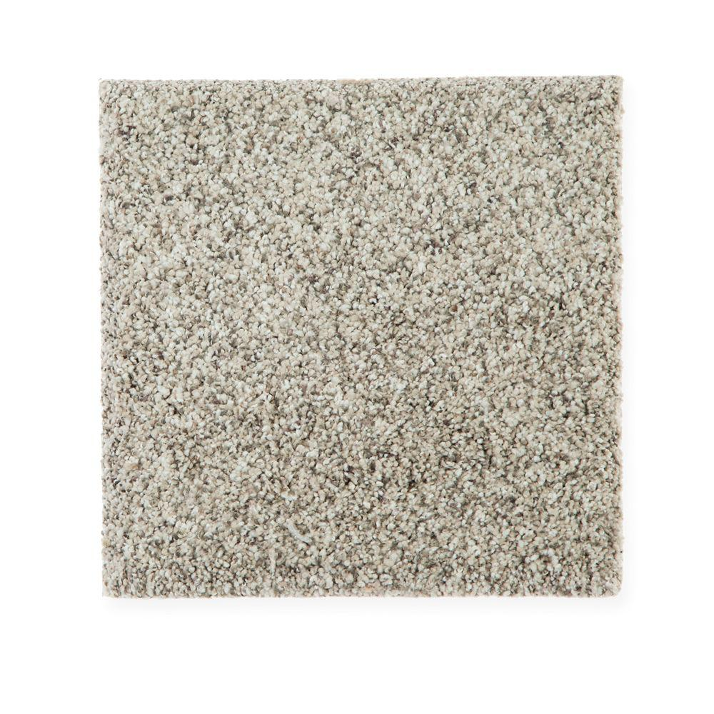 Carpet Sample - Maisie II - Color Minimal Grey Texture 8 in. x 8 in.
