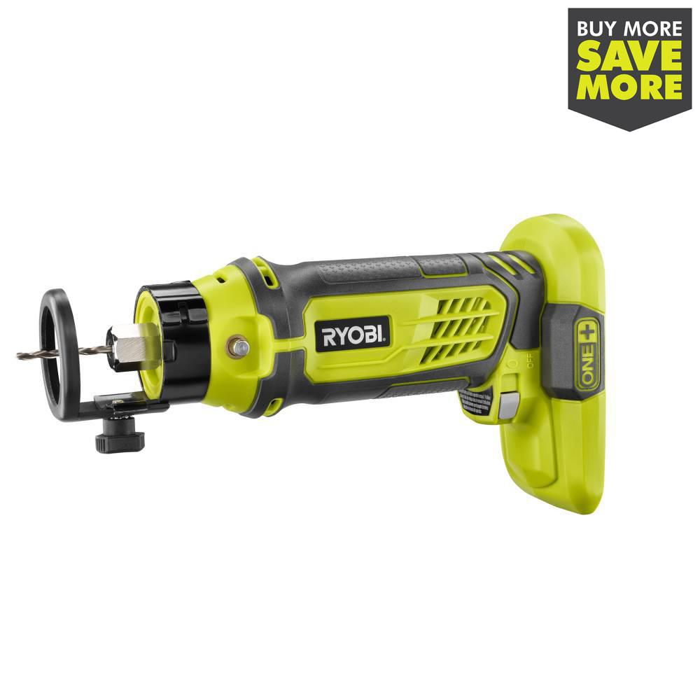 RYOBI 18-Volt ONE+ SPEED SAW Rotary Cutter - Tool Only