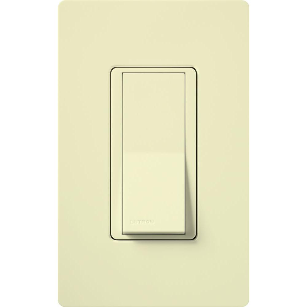 Lutron Claro 15 Amp SinglePole Paddle Switch Light AlmondCA1PS - Adorne 4 Way Switch Lowes