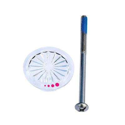 Bathroom Faucet Replacement Index Button - Hot Only