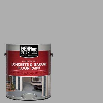 1 gal. #N520-3 Flannel Gray 1-Part Epoxy Concrete and Garage Floor Paint