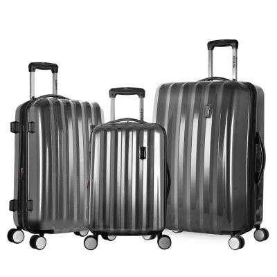 Titan 3-Piece Expandable Polycarbonate 8-Wheel Spinner Set