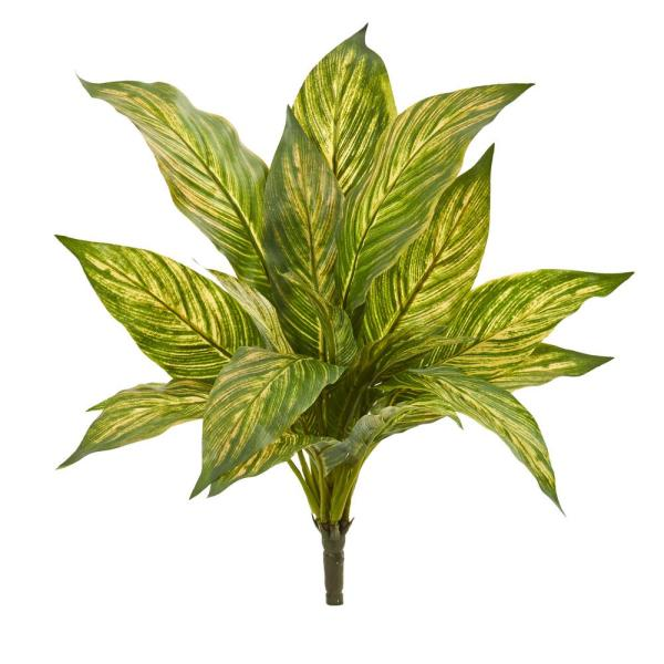 Nearly Natural Indoor 14 Musa Leaf Artificial Plant (Set of 12)