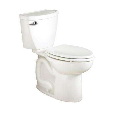 Cadet 3 Powerwash Tall Height 10 in. Rough 2-piece 1.6 GPF Single Flush Elongated Toilet in White, Seat Not Included