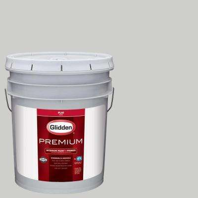 5 gal. #HDGCN61 Universal Grey Flat Interior Paint with Primer