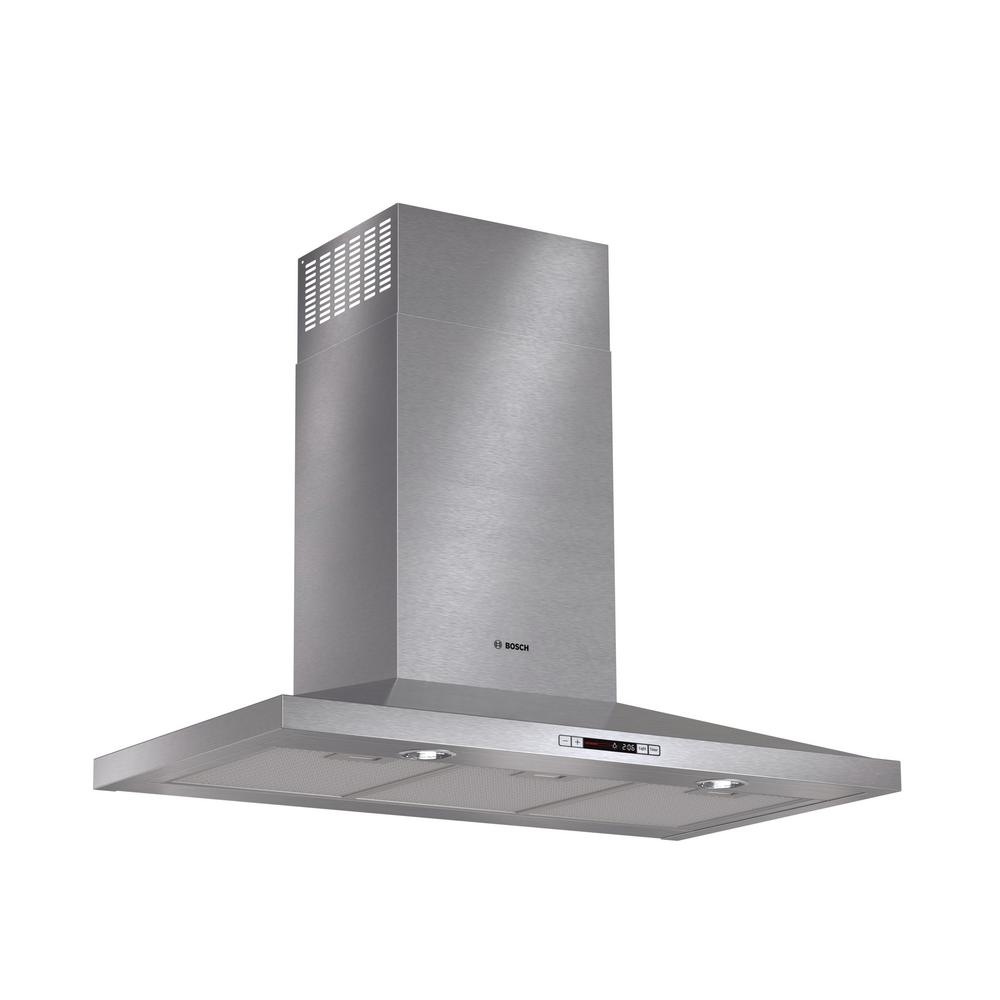 300 Series 36 in. Pyramid Style Canopy Range Hood with Lights