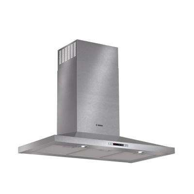 300 Series 36 in. Pyramid Style Canopy Range Hood with Lights in Stainless Steel