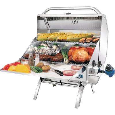 Catalina 2 Gourmet Series Propane Gas Grill in Stainless Steel