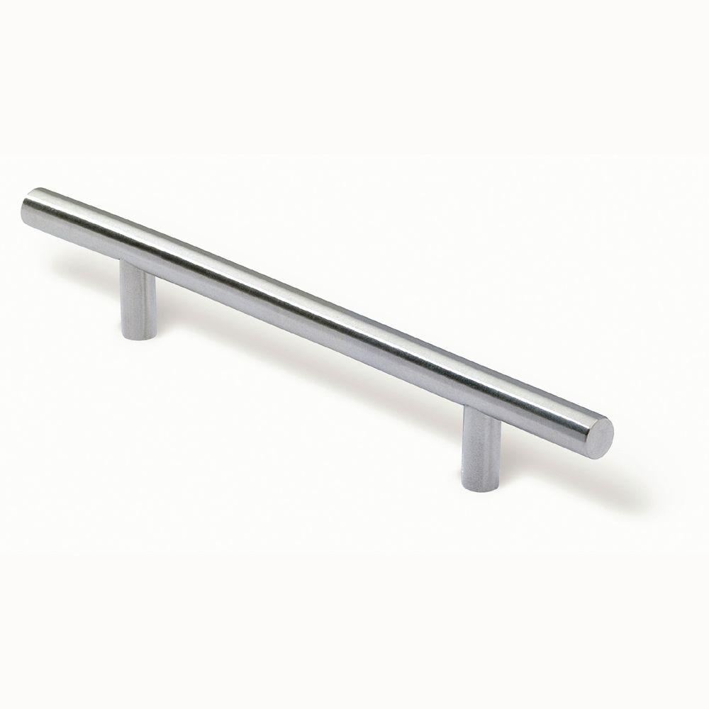 Siro Designs 96 Mm Stainless Steel Fine Brushed Rail Pull