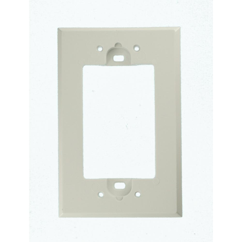 Leviton Shallow Wall Box Extender for GFCI, White