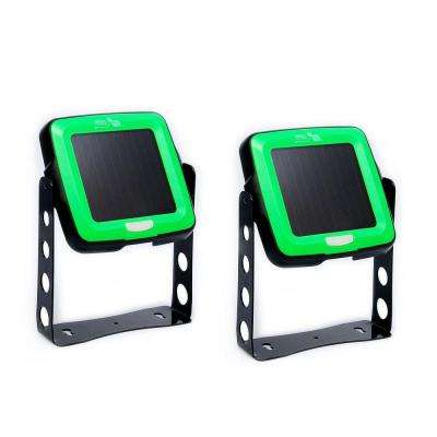 Solar Powered LED Indoor/Outdoor Swivel Light (2-Pack)