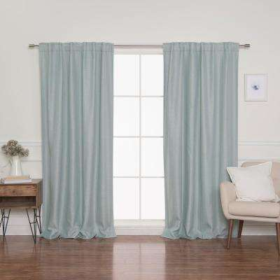 Back Tab Curtains Window Treatments The Home Depot