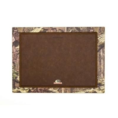 Mossy Oak 18 in. x 13 in. Rectangular Wood Fiber Composite Cutting Surface
