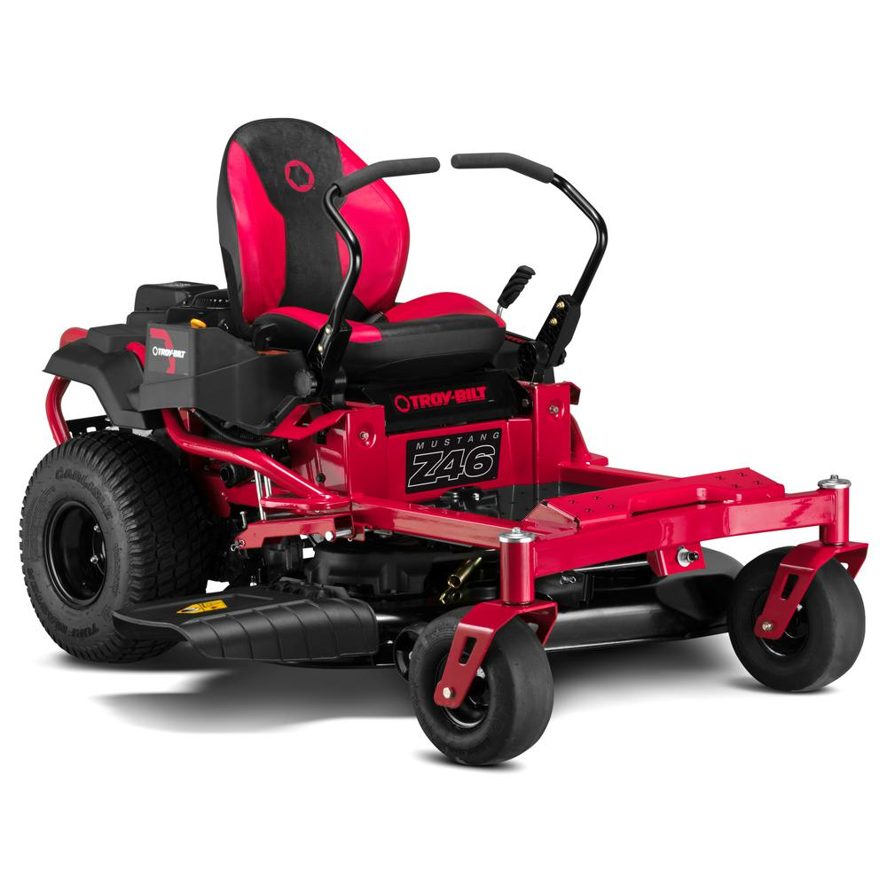 Troy-Bilt 46 in. 679 cc V-Twin OHV Engine Gas Zero Turn Riding Mower with Dual Hydro Transmissions and Lap Bar Control