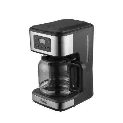 12-Cups Black Programmable Drip Coffee Maker with 60 oz. Coffee Pot