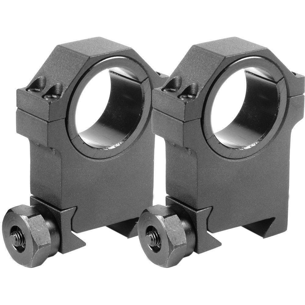 30 mm X-High HD Weaver Style Rings
