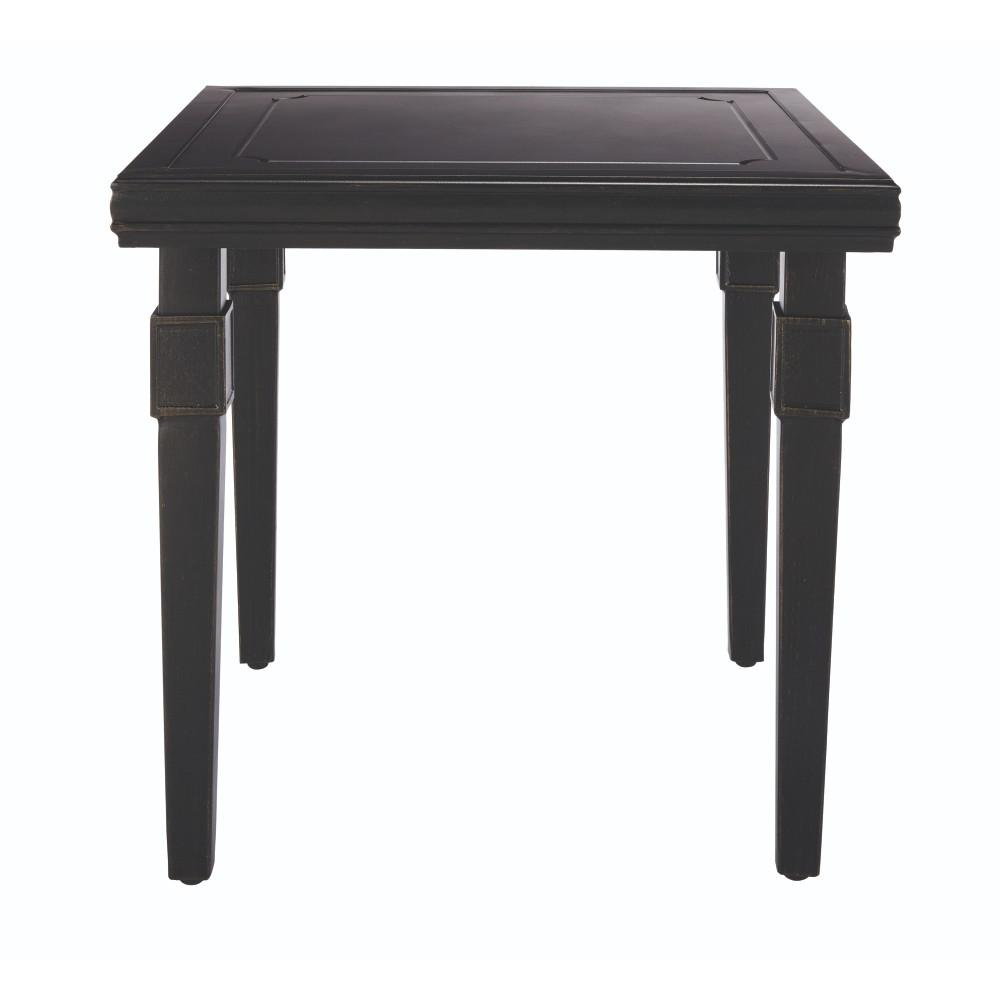 Dunham Manor Metal Antique Bronze Outdoor End Table