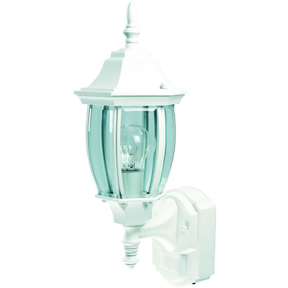 Heath Zenith 180 Degree White Alexandria Lantern With