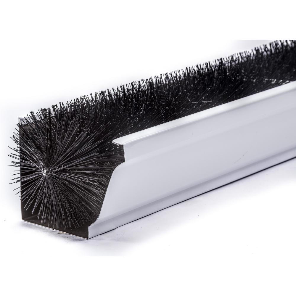 Gutterbrush Commercial 7 In 3 Ft Black Max Flow Filter