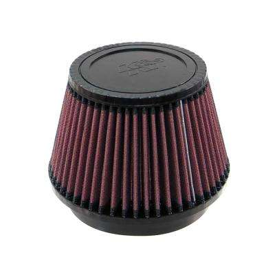 Universal Rubber Filter 5in Flange ID x 6.5in Base OD x 4.5in Top OD x 4.125in Height