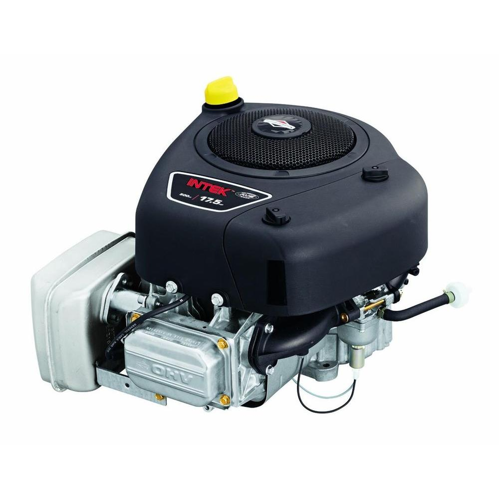 Briggs stratton 17 5 hp ohv vertical 9 amp and es gas for Briggs and stratton 5hp motor