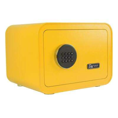 Edge Series 0.86 cu. ft. Electronic Personal Security Safe in Yellow