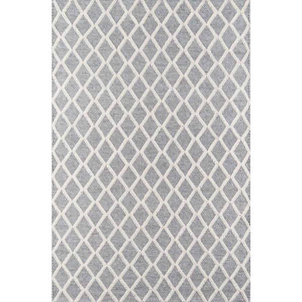Momeni Andes Grey 5 Ft X 7 Ft Indoor Area Rug Andesand 7gry5070 The Home Depot